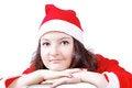 Free Pretty Girl Posing Dressed As Santa Claus Stock Photos - 27760353