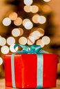 Free Christmas Gift Royalty Free Stock Photo - 27762445