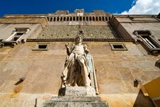 Archangel Michael Statue In Castel Sant Angelo Royalty Free Stock Photography