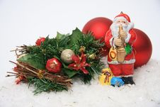 Free Santa Claus Royalty Free Stock Photos - 27761858