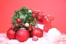 Free Christmas Background Royalty Free Stock Photography - 27761877