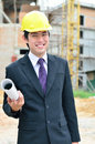 Free Engineer Is Working On A Construction Area Stock Photos - 27770053