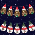 Free Christmas Garlands Stock Photo - 27774290