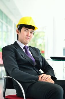 Free Engineer Is Relaxing Stock Photography - 27770032