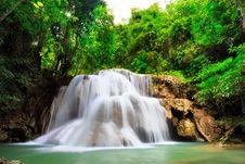 Free Thailand Waterfall In Kanjanaburi Stock Image - 27770291