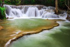 Free Thailand Waterfall In Kanjanaburi Stock Images - 27770334