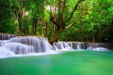 Free Thailand Waterfall In Kanjanaburi Royalty Free Stock Photo - 27770395