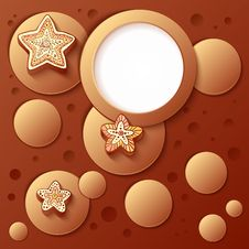 Free Chocolate Bubbles Abstract Artistic Background Royalty Free Stock Photography - 27778247