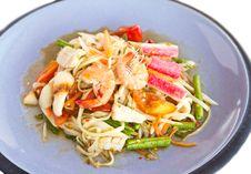Free Spicy Papaya Salad Thai Food Stock Photos - 27779323