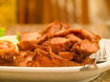 Free Fried Pork Stock Image - 27779391