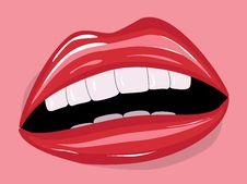 Free Red Lips Stock Images - 27779444