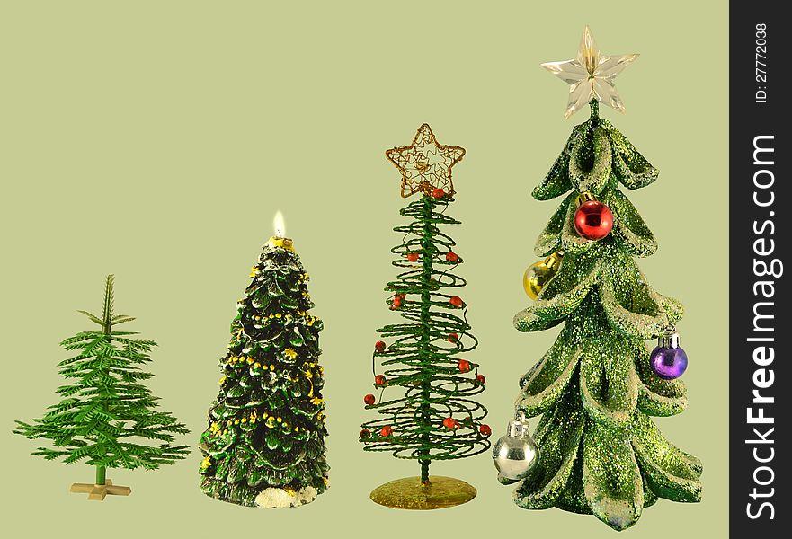Artificial conifers