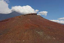 Volcano Etna Royalty Free Stock Photo