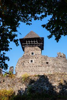 Free Nevitsky Castle Royalty Free Stock Photo - 27789235
