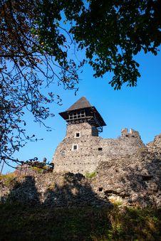 Free Nevitsky Castle Royalty Free Stock Photos - 27789238
