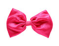 Free Red Satin Gift Bow Stock Images - 27794344