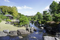 Free Garden With Pond In Japanese Style Stock Image - 27795941