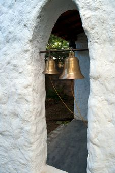Free Bells In Church Window Stock Image - 27792251