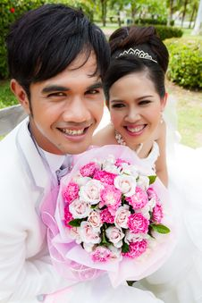 Free Wedding Couple Stock Image - 27793351