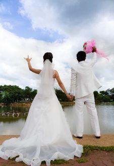 Free Wedding Couple Stock Photography - 27793422