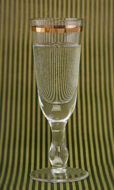 Free Vintage Vodka Glass Royalty Free Stock Images - 27793429