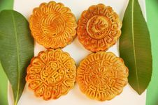 Free Chinese Moon Cake Stock Image - 27795451