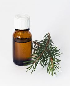 Free Fir Essential Oil Stock Photography - 27797352