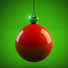 Free Christmas Ball Stock Photography - 27799792