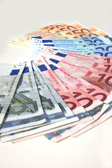 Free European Paper Money. Stock Image - 2781681