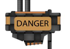 Free Sign - Danger Royalty Free Stock Images - 2782219