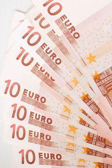 Free Euro Banknotes Royalty Free Stock Image - 2782696