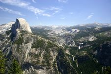 Free Half Dome From Glacier Point Stock Photo - 2782750