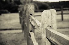 Free Old Wooden Fence Royalty Free Stock Image - 2782936