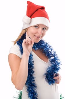 Snow-Maiden Royalty Free Stock Photography
