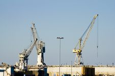 Free Three Crane Stock Photo - 2783850
