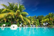 Free Private Resort Pool Stock Images - 2785494