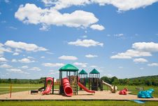 Free Playground In A Sunny Day Stock Photography - 2785572