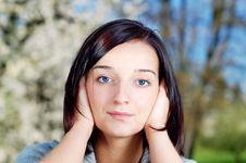 Free Girl In A Park Stock Photos - 2785593