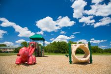 Free Playground In A Sunny Day Stock Photo - 2785650