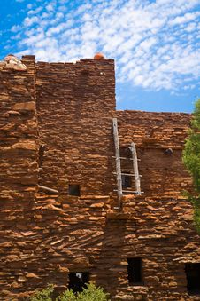 Red Rock House And Latter Stock Images