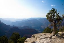 Free Grand Canyon Sun Silhouettes Royalty Free Stock Photography - 2785837