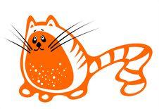 Free Orange Cat 3 Royalty Free Stock Photography - 2786217