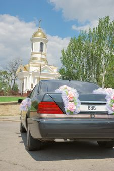 Free Wedding Car Royalty Free Stock Photos - 2786418