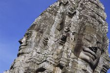Free Bayon Faces Royalty Free Stock Image - 2786636