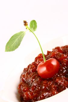 Free Jam Cherry Stock Images - 2787064