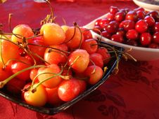 Free Yellow And Red Cherry Stock Images - 2787604
