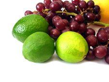Free Lime, Grapes, Orange Stock Photos - 2788113