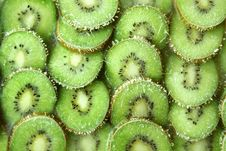Free Frozen Kiwi Slices Royalty Free Stock Image - 2788386