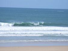 Free Big Waves In Cornwall Royalty Free Stock Photos - 2788598