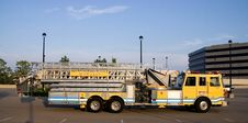 Ladder Truck Side Royalty Free Stock Photos